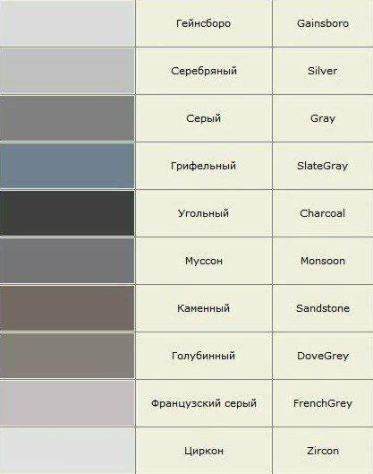 Названия цветов и оттенков полная версия... фото #2