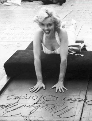Marilyn Monroe by charm.hairsalon