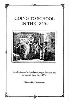 olden day school lessons and activities