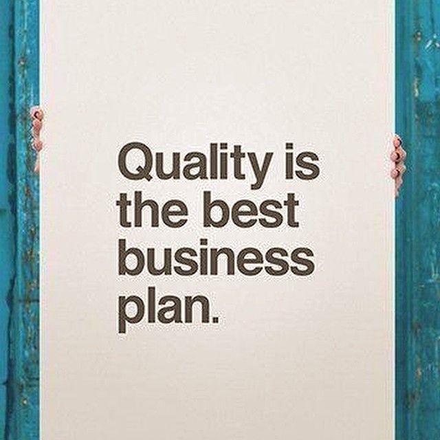 #quality #businessplan
