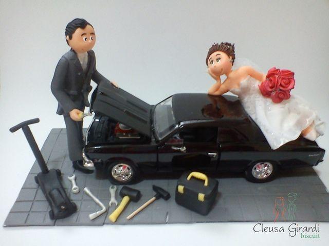 Elisabeth e Fabiano novo mecânico. cód: 341