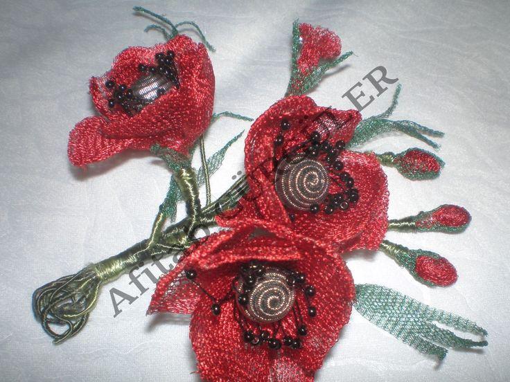 Titanyum Çiçek Çalışması