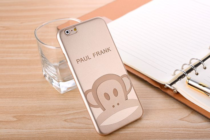 IPHONE 6 | Lyx Guld Paul Frank Laser-Märkt Tecknad Serie PC Cases For Iphone 6