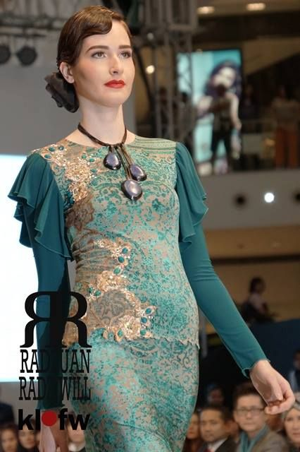 Fashion show  with Radzuan Radziwill during Kuala Lumpur Fashion week on 20th June 2013.