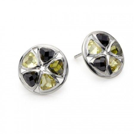 Dakota CZ Stud Earrings