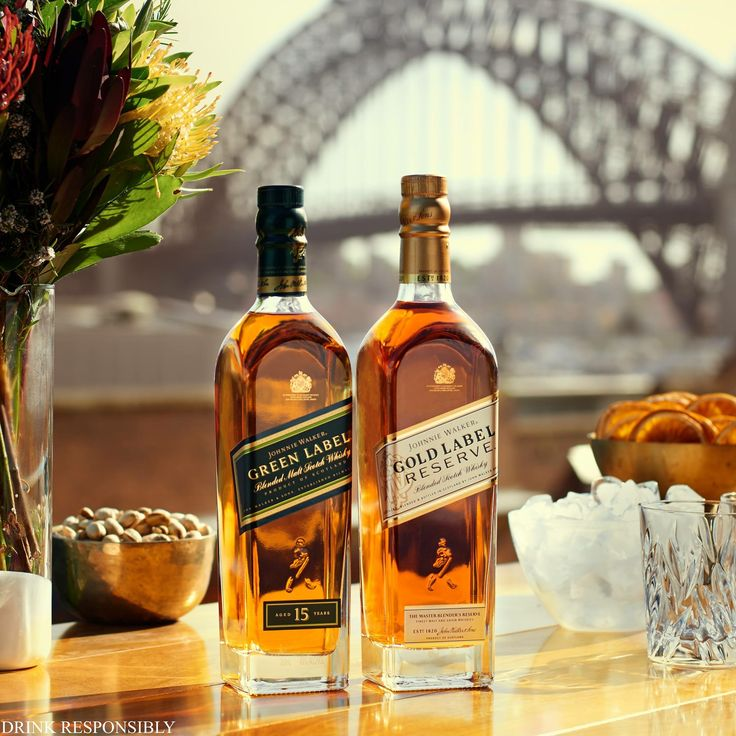 Johnnie Walker® | Green Label™ | Gold Label Reserve™