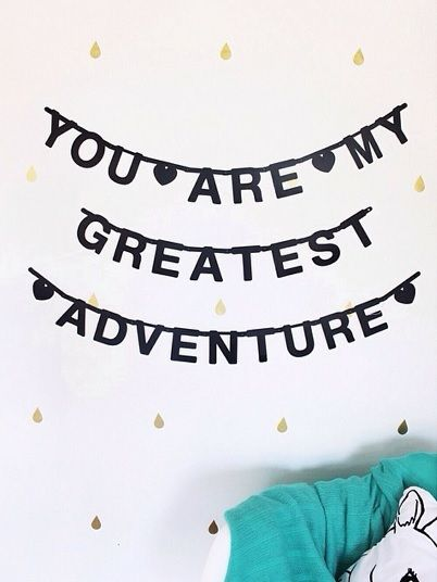 #Wordbanner #tip: You are my greatest #adventure - Buy it at www.vanmariel.nl - € 11,95