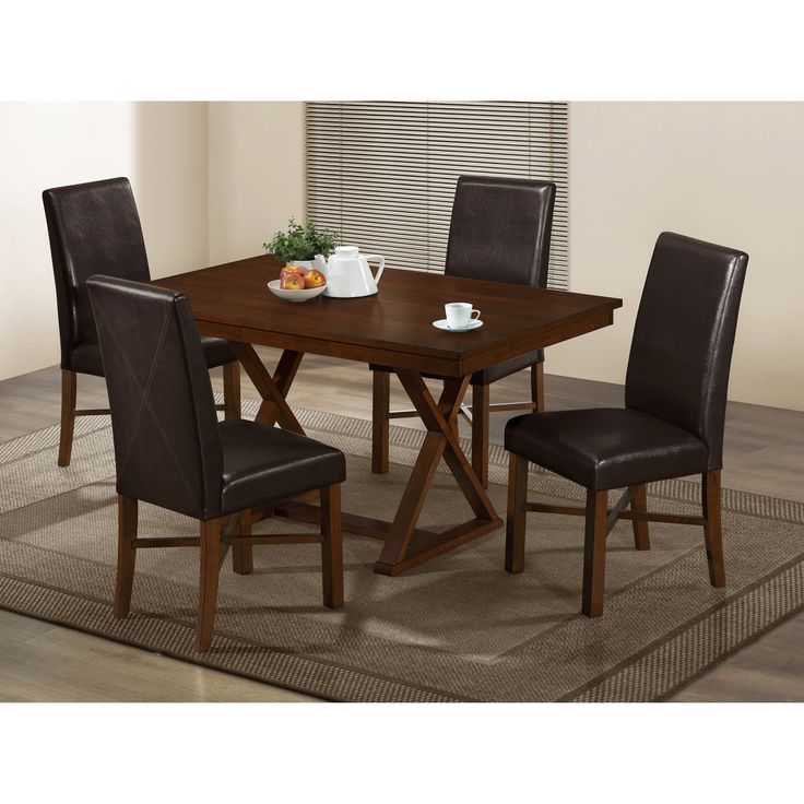 Monarch Modern Oak 60 X 36 In Rectangle Dining Table