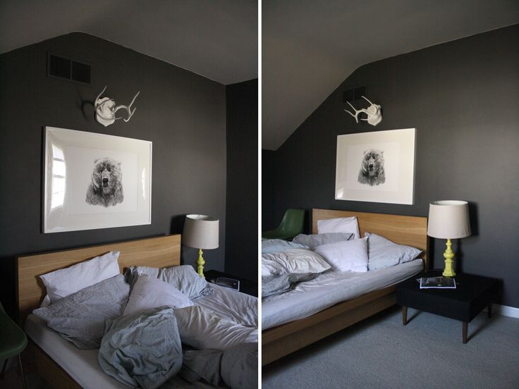 greys bedroom makeover - love these tones