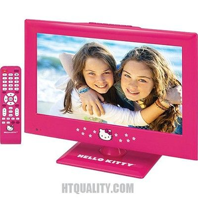 "Hello Kitty KT2215 15"" LED Television #jubaugroup"