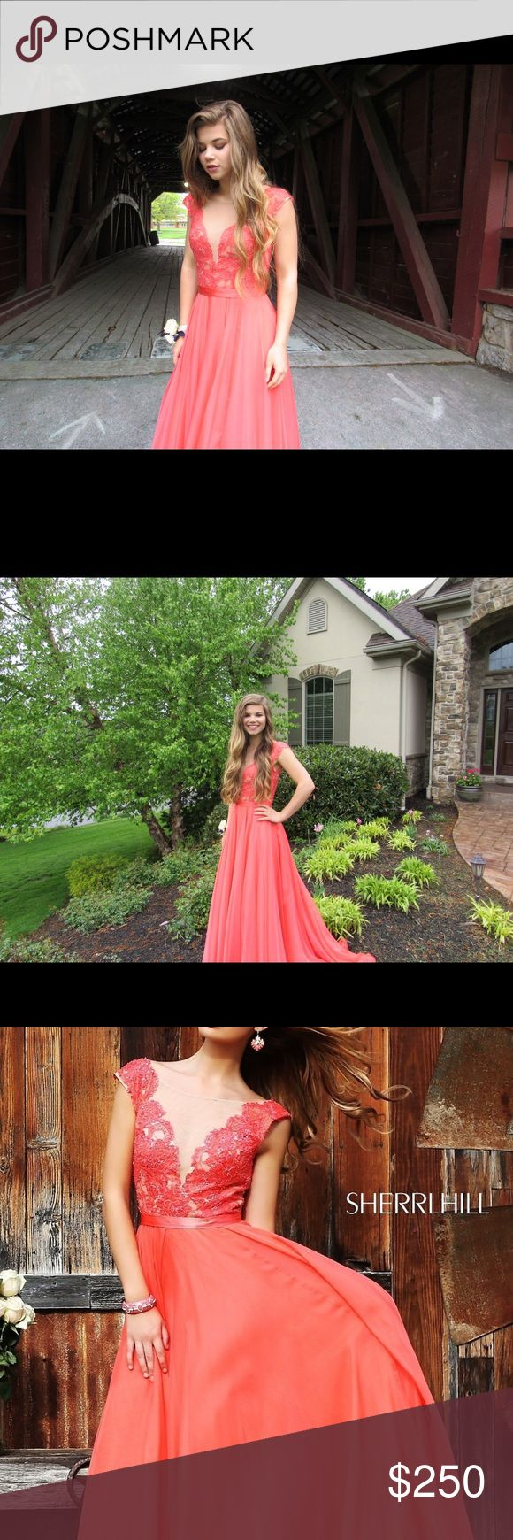 Sherri Hill size 2! Bought for $500! Worn once This was my prom dress this past year. It is such a gorgeous dress and I bought it for $500. Retail price is $550. I'm only asking $250 because I have no other use for it. Sherri Hill Dresses Prom