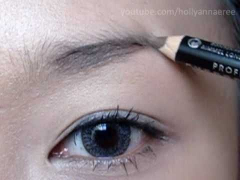 How I do my Brows - (Filling Them In - Brow Pencil Application) - YouTube
