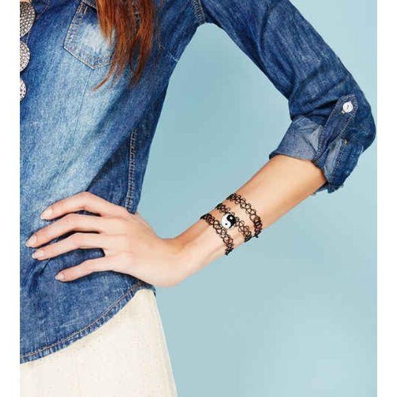 Ensemble de bracelet tatouage yin yang (TN-O.) Comprend 3 bracelets Bracelets à bijoux   – My Posh Picks