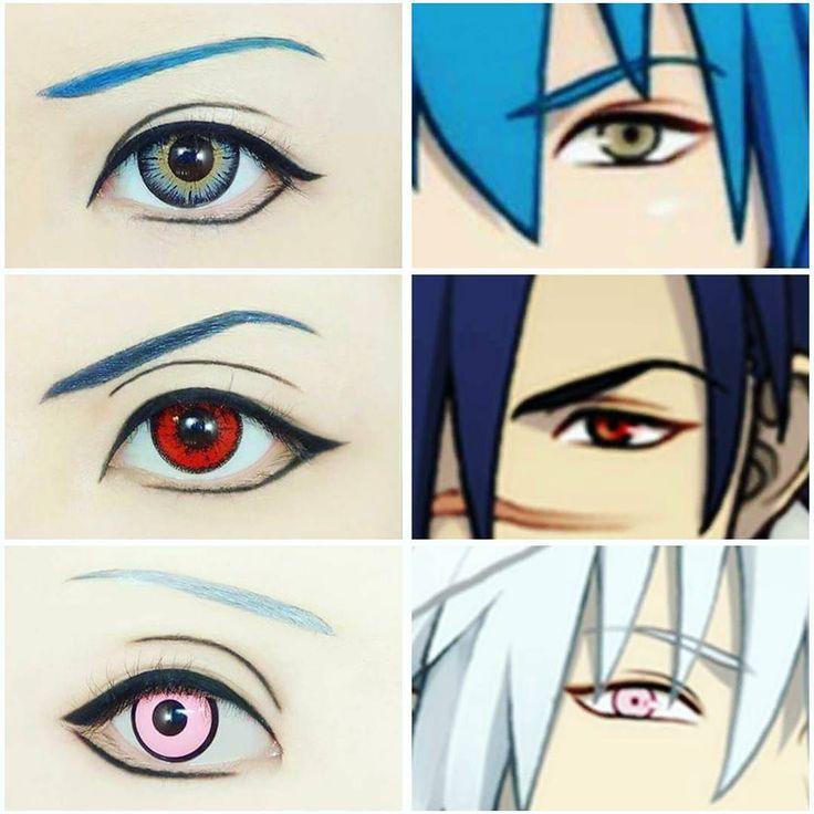 Credit to facebook user # Winnie Yap # Youtube  zwinnieyap  #eyemakeup#cosplay#cos#cosplaymakeup#winnieyap#malasia#sugoi#kakkoii#kawaii#awesome#makeup#cool#try#anime#otaku#animemakeup#animefreak#fangirl#fandom#contactlens