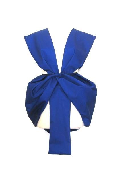 """""""Christina Skarpeli"""" blue geometric dress"""
