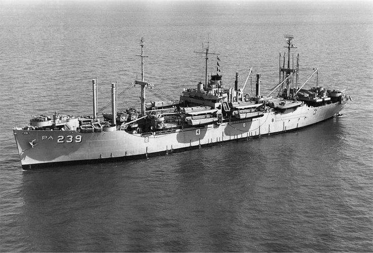 USS Glynn (APA-239) 1945, was a Haskell-class attack transport that was built for service with the US Navy in World War II. She was commissioned shortly after the war and consequently never saw action.