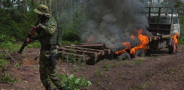 Conheça a unidade militar especial que tenta impedir em solo o desmatamento da Amazônia