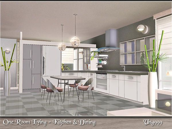 17 best images about sims 3 kitchen dining on pinterest for Sims 3 dining room ideas
