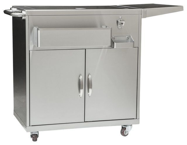 $649 Outdoor Party Cart - Contemporary - Outdoor Serving Carts - by Barbeques Galore