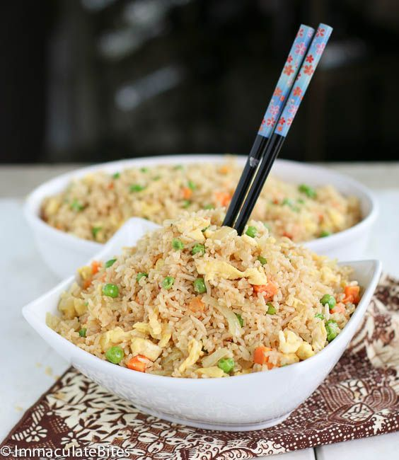 I just cooked this with some variations and it was the BOMB! Do yourself a favooorrr; try this recipe!   [Coconut Fried Rice]-africanbites