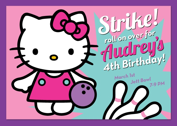 Best Bowling Party Images On   Birthdays Kids