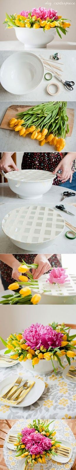 The Best & top class DIY today: So perfect for any flower arrangement!