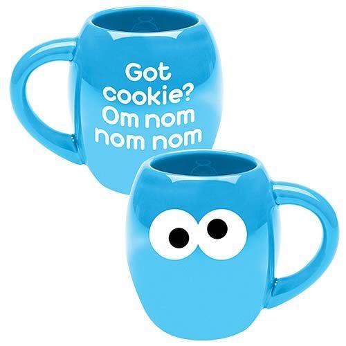 Cookie Monster Om Nom Nom Mug