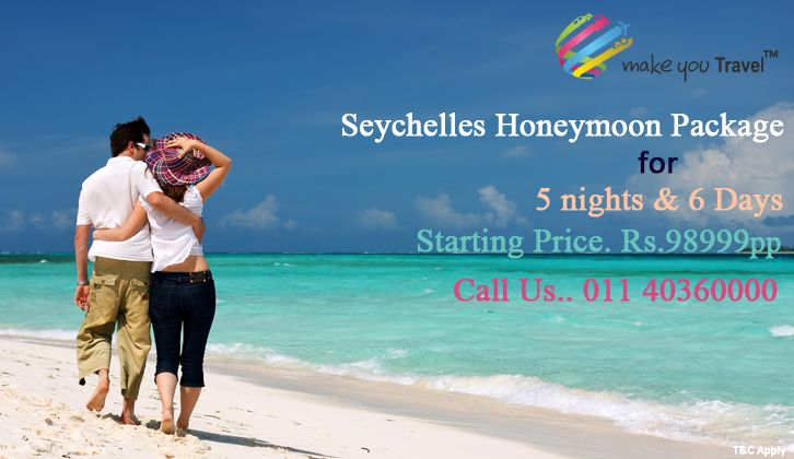 The islands of the Seychelles are quite simply the most romantic location imaginable, the perfect spot for a romantic Seychelles honeymoon or wedding anniversary perhaps.   Click http://www.makeyoutravel.com/searchresults.aspx?city=seychelles for Book #Seychelles_Honeymoon_Packages