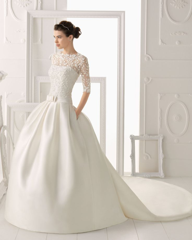 Barcelona wedding dress