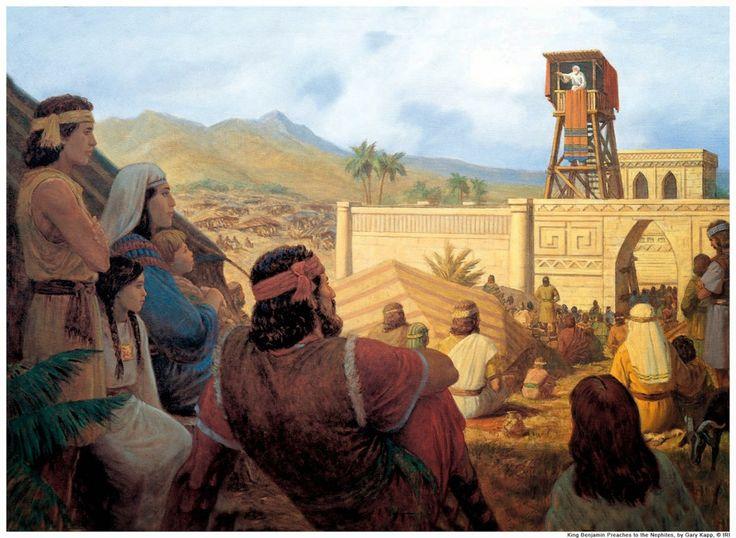 El Rey Benjamín: Discursos del Libro de Mormón