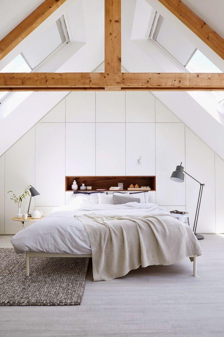 Meer dan 1000 ideeën over schuin plafond slaapkamer op pinterest ...