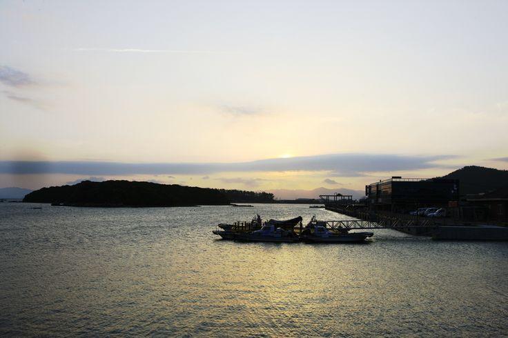 한 폭의 수묵화 같은 까막섬이 낭만적인 항구, 강진 마량항   (사진_한국관광공사 김지호)