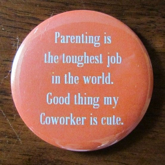 Love this. When parenting you need to be able to laugh and love the person who is taking the journey with you.