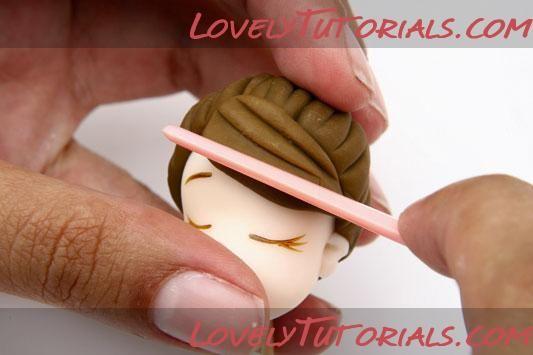 МК Фигурка для торта «Целующаяся парочка» -Kissing wedding couple cake topper tutorial - Мастер-классы по украшению тортов Cake Decorating Tutorials (How To's) Tortas Paso a Paso