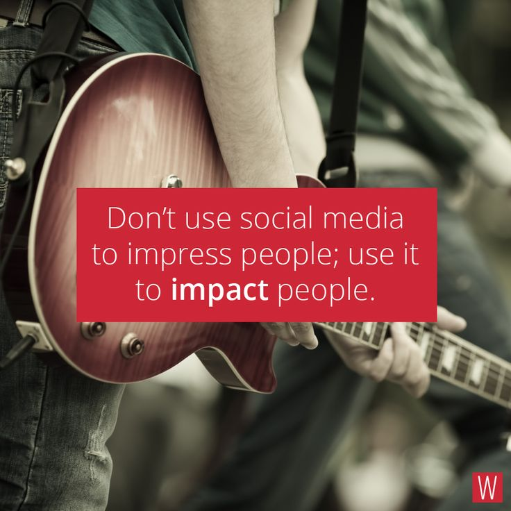 Don't use social media to impress people; use it to impact people. #quote #SocialMedia #social #media #people #impact #impress #innovation #inspiration #work