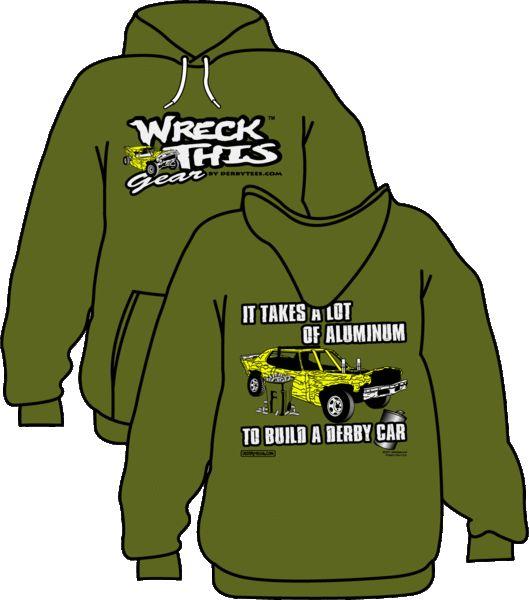 Derbytees.com - *ONLINE EXCLUSIVE* Aluminum Hoodie (Military Green), $35.00 (http://www.derbytees.com/online-exclusive-aluminum-hoodie-military-green/)