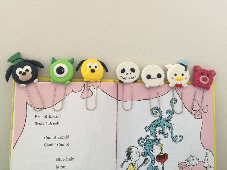 Disney Tsum Tsum bookmarks