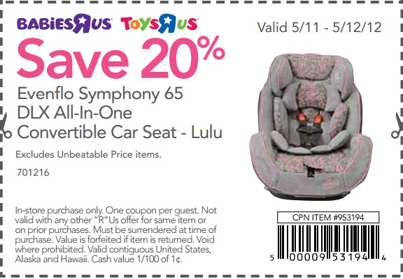 Babies r us booster seat coupons