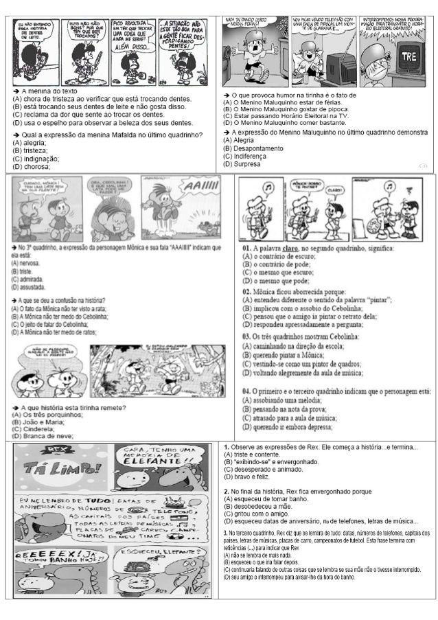 ATIVIDADES DIVERSAS CLÁUDIA: Atividades de Língua Portuguesa com matriz de refe...