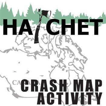HATCHET Crash Map Activity (by Gary Paulsen)