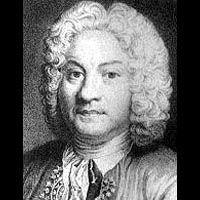 """Francois Couperin.- 4) F. COUPERIN; Son traité """"L'Art de toucher le clavecin"""" publié en 1716 est une source précieuse concernant l'enseignement de cet instrument au 18°s. - BIOGRAPHIE: François Couperin est né le 10 novembre 1668 rue du Monceau St Gervais à Paris et il est baptisé le 12 novembre 1668 en l'église St-Gervais, son parrain étant alors son oncle, l'organiste François Couperin."""