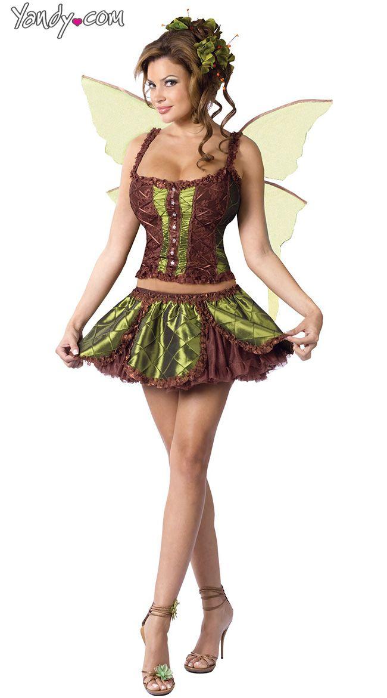 enchanting fairy costume - Green Fairy Halloween Costume
