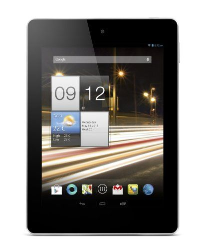 Acer Iconia A1-810-L416 7.9-Inch 16 GB Tablet (Pure White), Acer Iconia A1-810-L416 Tablet comes with these high level Specs: MTK MT8125 Quad Cortex A7 Processor (1.2GHz), Android Jelly Bean Operating System, 7.9 XGA 1024 x 768 resolution, TFT LCD with LED-ba..., #Computers, #Tablets