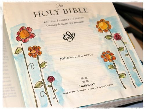 online class on Bible art journaling and lettering