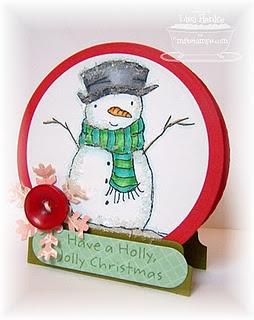 Snow globe - genius!!!