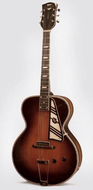 National Electric Spanish Archtop Guitar #LardysWishlists ~ https://www.pinterest.com/lardyfatboy/ ~