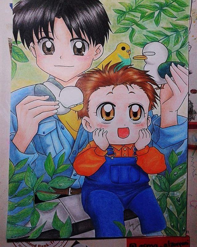 سامي ووسيم اناواخي Friend Anime Art Drawings Simple Disney Drawings