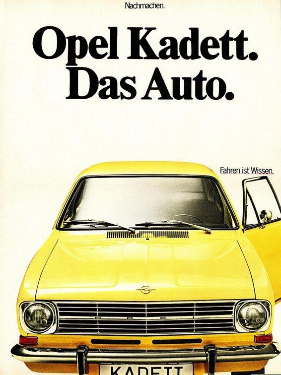 Opel Kadett B Modell Mehr