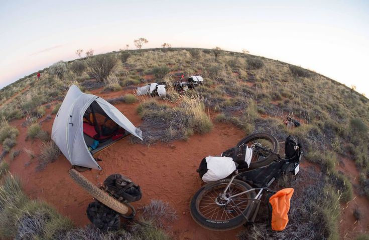 Canning Stock Route. Australia in bikepacking