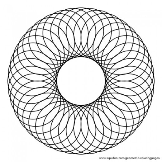 The 25 Best Geometric Coloring Pages Ideas On Pinterest